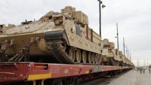 США проводят ротацию военного контингента в Восточной Европе