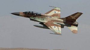 Израильские ВВС усиленно патрулируют границы