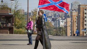 Сигнал Европе: Флаг Новороссии реял над протестующими в Чехии