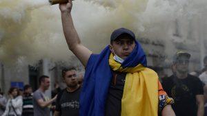 «Бешеная свора»: В Киеве избиты британские болельщики