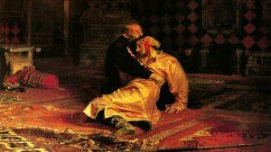 В Третьяковке вандал повредил картину Репина «Иван Грозный и сын его Иван»