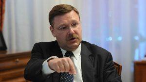 Лишенный визы США сенатор Косачев обратился в Межпарламентский союз