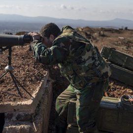 САА ударила по конвою боевиков близ Голан