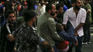 В Иордании применили слезоточивый газ против демонстрантов.