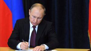 Путин подписал заон о контрсанкциях против США и их союзников