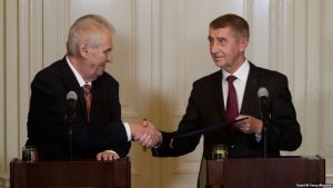 Президент Земан повторно назначил Андрея Бабиша премьером Чехии