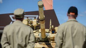 Армия Ирака принимает российские танки