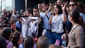 В центре Тбилиси проходит акция протеста
