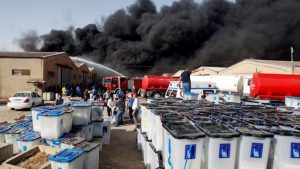 В Багдаде сгорели склады с избирательными бюллетенями