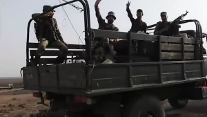 САА выбивает ИГ со стратегических высот в Срийской пустыне
