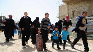 Около 340 сирийских беженцев вернулись в свои дома в Восточной Гуте за сутки