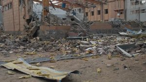 Арабская коалиция уничтожила холерный госпиталь в Йемене