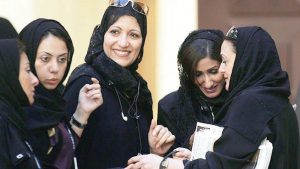 Саудовская Аравия принимает женщин на службу