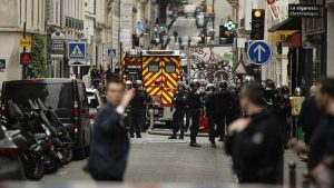В Париже захватили заложников