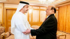Йеменский президент Хади прибыл в ОАЭ для переговоров