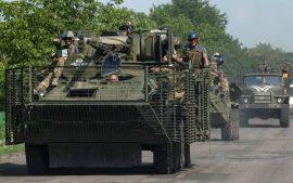 В Госдуме заявили о значительном скоплении техники ВСУ у границ России