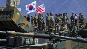 США и Республика Корея свернут совместные военные учения