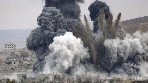 СМИ: западная коалиция нанесла удары в районе сирийского Бу-Кемаля
