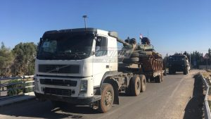 «Силы Тигра» перебрасывают тяжелую технику на юг Сирии