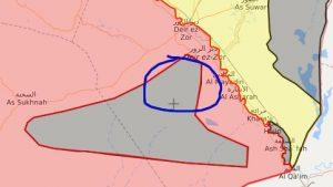 САА добивает боевиков ИГ в районе Ат-Танф