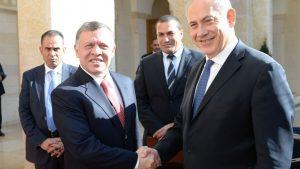Нетаньяху обсудил с королем Иордании ситуацию с Иерусалимом