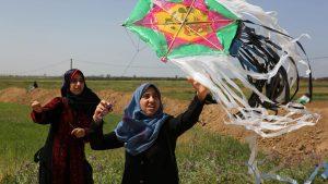 ЦАХАЛ отвечает на провокации с воздушными змеями ударами по позициям ХАМАС