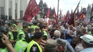 Столкновения у Рады: Причины и последствия беспорядков