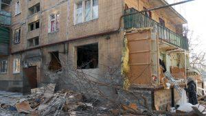 Горловка вновь терпит удары ВСУ: Повреждены многоэтажки