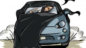 Саудовскую телеведущую обвиняют в «неприличном» виде за рулем