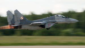 В Польше разбился МиГ-29