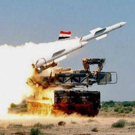 ПВО Сирии отбили ракетную атаку на авиабазу Т4