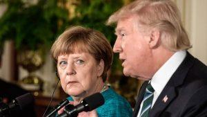 Трамп упрекнул ФРГ зависимостью от газа из РФ. Меркель ответила