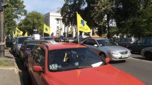 Киев снова в дыму: Раду и Кабмин блокировали многотысячные митинги