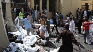 В Пакистане произошёл теракт