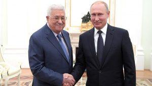 Путин встретился с Махмудом Аббасом