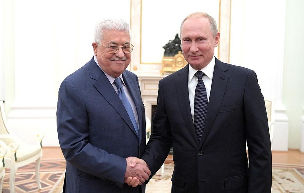 Путин обсудит сАббасом контактыРФ состранами Ближнего Востока