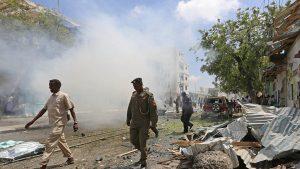 При взрыве в Могадишо погибли 10 человек