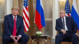 Путин и Трамп завершили личную встречу
