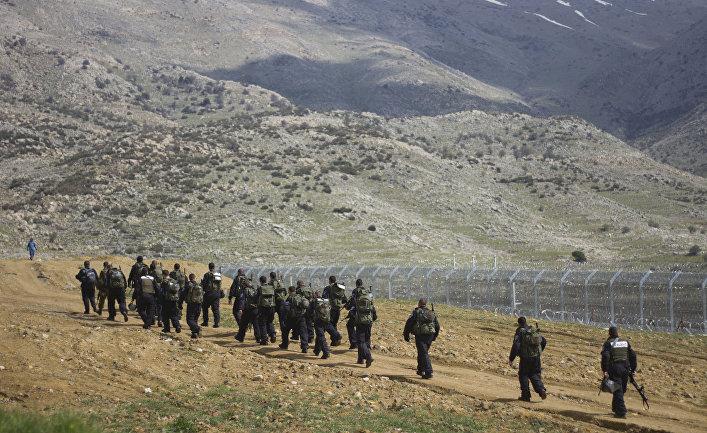 Израильские военные непропустили сирийских беженцев наГоланские высоты