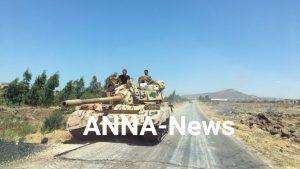 Сирийская армия взяла под контроль высоту Тель-Нимар