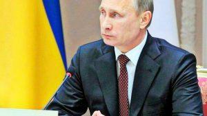 Ну, с «повышением»: Путина назначили в «президенты Украины»