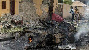 В Могадишо прогремел взрыв