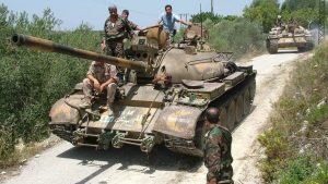 Сирийская армия готовит операцию на северо-востоке провинции Латакия