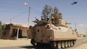 Силы безопасности Египта уничтожили 50 террористов на Синае