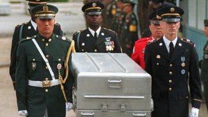 КНДР вернула на американскую базу останки солдат ВС США