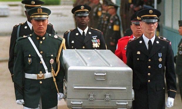 НаГавайи доставят останки 55 американских солдат