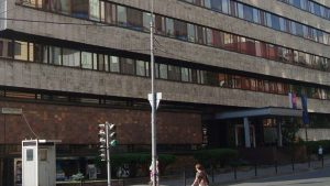 В Москве возле посольства Словакии напали на полицейского