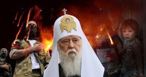 Расстрига Филарет благословил войну в Донбассе и готовит захват православных святынь