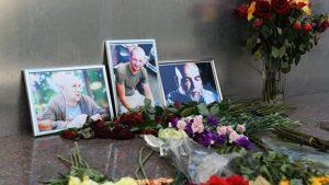 В Москве прошло прощание с погибшим в ЦАР оператором Кириллом Радченко