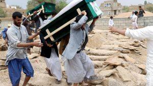 При ударе аравийской коалиции по Йемену погибли 40 детей